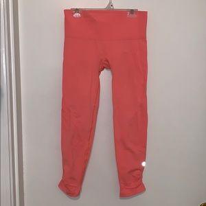 Lulu lemon peachy leggings. Only worn once!